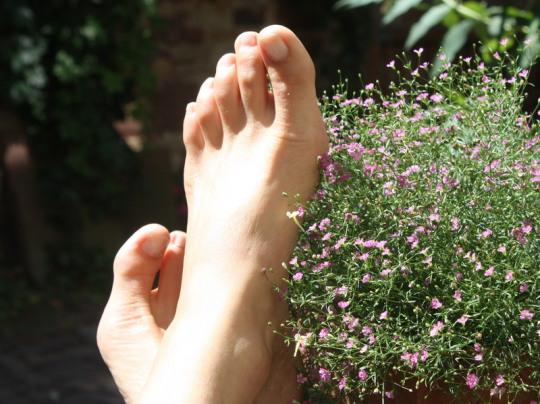 Fußmassage, Wellness, Massage, Entspannung, Eggenstein